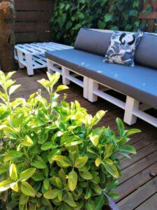 palet bahçe koltuk