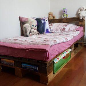 çocuk odası palet yatak