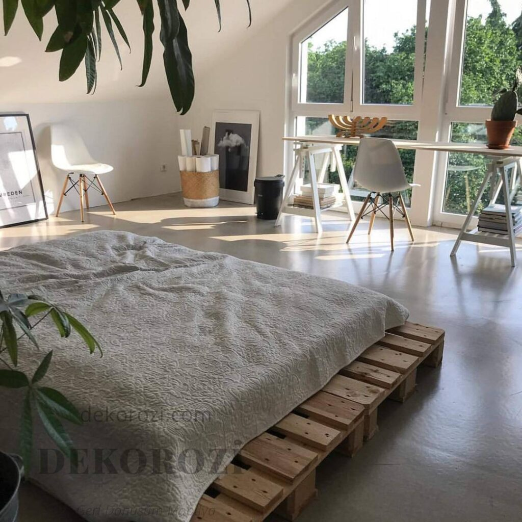 palet yatak modeli