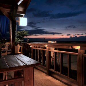 balkon ışıkları