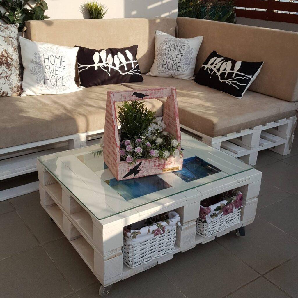 palet teras koltuk