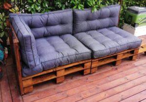 palet koltuk bahçe