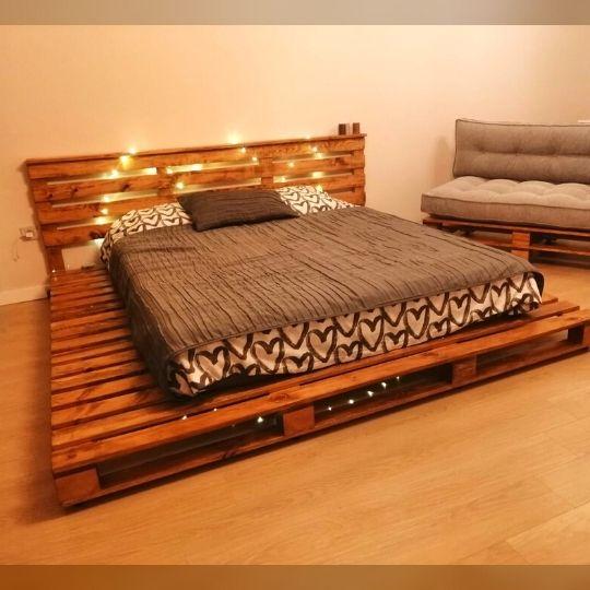 palet yatak büyük